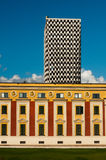 Vista de Tirana Foto de archivo libre de regalías