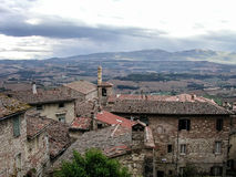 Vista de Todi, Itália Imagens de Stock