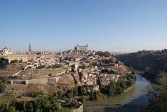 Vista de Toledo Fotos de archivo libres de regalías