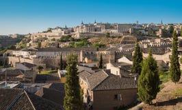 Vista de Toledo Foto de archivo libre de regalías