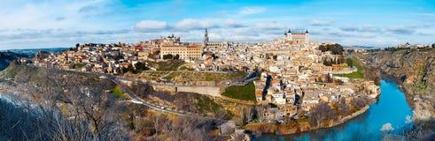 Vista de Toledo Imagen de archivo