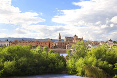 Vista de Toledo, Espanha Foto de Stock Royalty Free