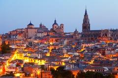Vista de Toledo velho Foto de Stock