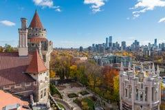 Vista de Toronto da casa LOMA imagem de stock