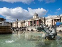 Vista de Trafalgar Square Fotos de archivo