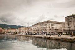 Vista de Trieste Imagen de archivo libre de regalías