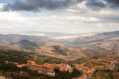 Vista de Troina Fotografía de archivo libre de regalías