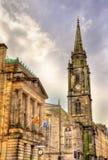 Vista de Tron Kirk em Edimburgo foto de stock royalty free
