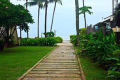 Vista de tropical agradável Fotos de Stock Royalty Free