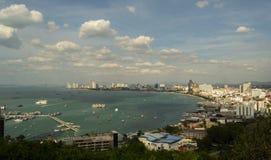 Vista de um porto Imagem de Stock Royalty Free