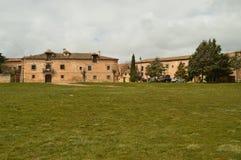Vista de um prado com revestimento no convento de Santa Isabel In Medinaceli 19 de março de 2016 História do curso da arquitetura Imagem de Stock Royalty Free