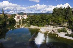 Vista de um rio Imagem de Stock Royalty Free