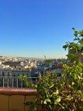 Vista de um terraço Foto de Stock Royalty Free
