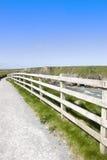 Vista de um trajeto da caminhada do penhasco Imagem de Stock Royalty Free