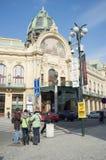 A casa municipal em Praga Imagens de Stock