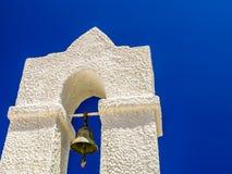 Vista de uma igreja velha em crete Fotos de Stock