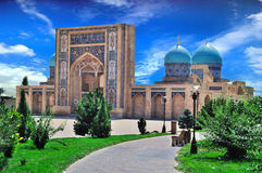 Vista de uma mesquita imagens de stock