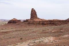 Vista de uma montanha Foto de Stock Royalty Free