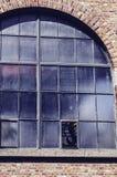 Vista de uma parede redonda velha foto de stock royalty free