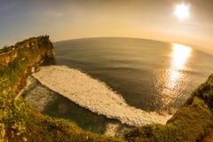 Vista de un acantilado en Bali Indonesia Foto de archivo