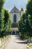 Vista de un monasterio antiguo Imagen de archivo libre de regalías