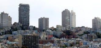 San Francisco houseing Fotografía de archivo libre de regalías