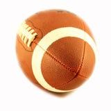 Vista de una bola para el fútbol americano Imagen de archivo