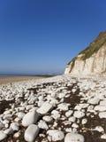 Vista de una ciudad de la playa Imágenes de archivo libres de regalías