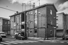 Vista de una ciudad europea fotos de archivo