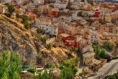 Vista de una ciudad histórica Fotos de archivo