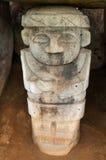 Vista de una estatua antigua Fotografía de archivo