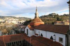 Vista de una iglesia en Portugal Fotografía de archivo libre de regalías