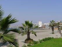 Vista de una playa del Ancon fuera de Lima Imagen de archivo