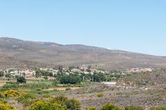 Vista de Uniondale, África do Sul Fotos de Stock Royalty Free