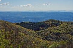 Vista de Valdarno de Pratomagno Imagen de archivo libre de regalías