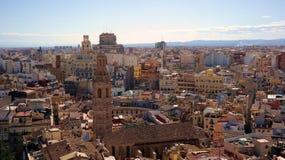 Vista de Valencia Fotografía de archivo