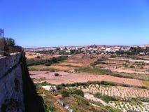 Vista de valletta, capital de Malta Fotos de Stock