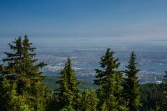 Vista de Vancouver de la montaña de Graus Imagen de archivo libre de regalías