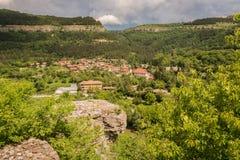 Vista de Veliko Tarnovo Imágenes de archivo libres de regalías
