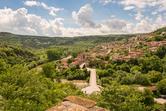 Vista de Veliko Tarnovo Imagenes de archivo