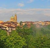 Vista de Veliko Tarnovo Imagens de Stock Royalty Free