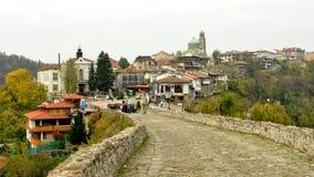 Vista de Veliko Tarnovo Imagem de Stock