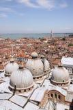 Vista de Venecia Fotografía de archivo libre de regalías