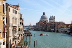 Vista de Venecia el día soleado Imagenes de archivo