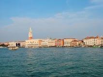 Vista de Venecia en invierno Imagen de archivo libre de regalías