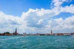 vista de Venecia Italia Foto de archivo libre de regalías