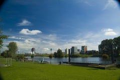 Vista de Venlo, os Países Baixos imagens de stock