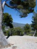 Vista de Ventoux del montaje fotografía de archivo libre de regalías