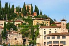 Vista de Verona Fotos de archivo libres de regalías