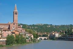 Vista de Verona Imagenes de archivo